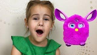 Подарок от Мими Лисса и другие подарки на День Рождения Алины Новая классная игрушка Алина играет
