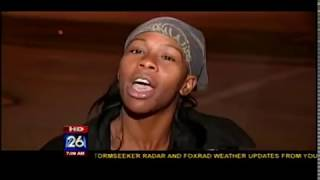 KRIV FOX 26 Houston Live report on Air Jordan Shoes on 12/23/2011 which turns Ghetto fast