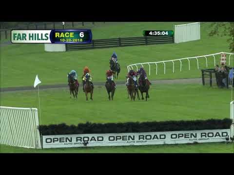 Jury Duty Winning The Grand National At Far Hills – 2018 Champion Horse