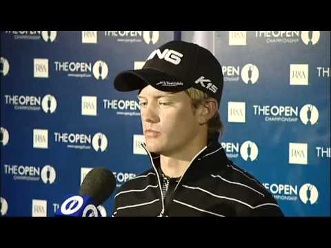 Who is amateur golfer Tom Lewis?