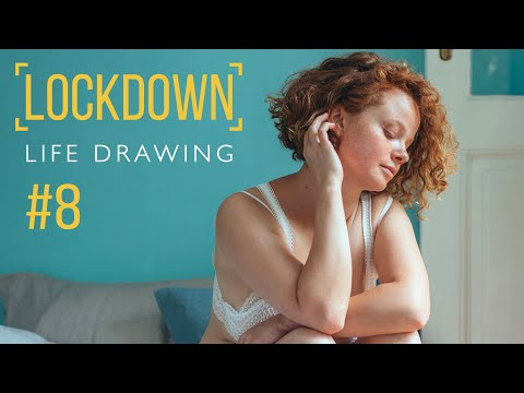 Lockdown Life Drawing #8 ✏️ Accuracy Tips & Long Poses [Draw Along Live Stream] from YouTube · Duration:  2 hours 29 minutes 32 seconds