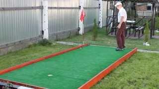 Мини-гольф по-российски. Было бы желание….