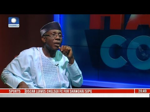 Hard Copy: Audu Ogbeh Speaks On Critical National Issues Pt 1