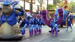 [HD] Full Pixar Play Parade with New Monsters University Parade - Disney California Adventure