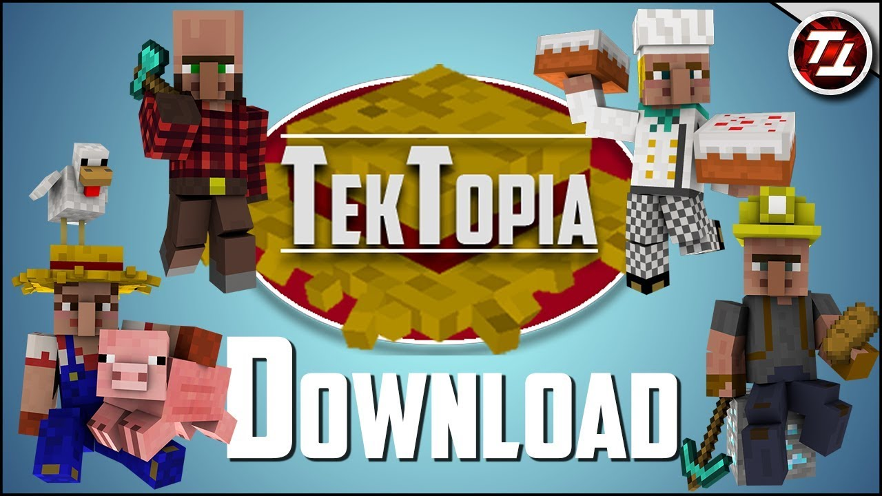 TekTopia Villager Mod Download!