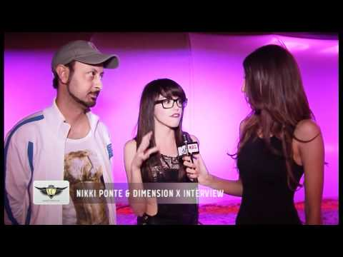 We Were There: Nikki Ponte and Dimension X interview @ Drops Beach Bar!