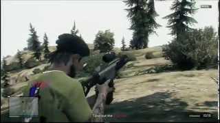 GTA Online, The Beach Bum Gang Attack - Palomino Highlands on a East Coast island. Xbox360 (HD)