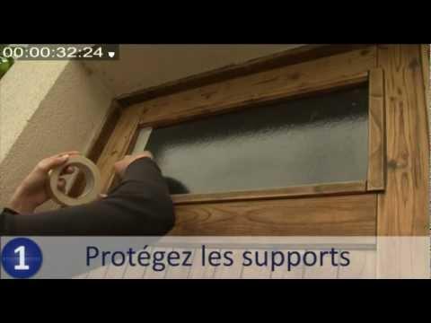 Comment appliquer une lasure sur des cl tures en bois a for Lasurer une porte