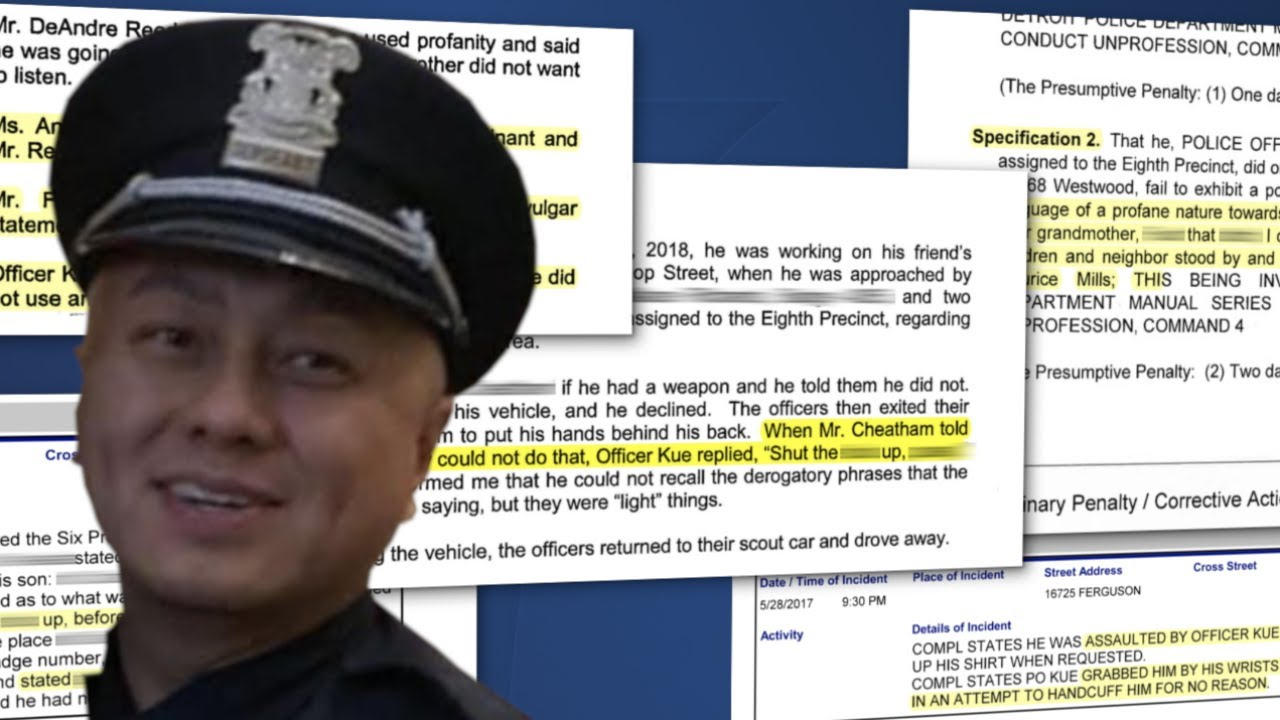 Download DPD moved to fire cop hit with 85 complaints, accusations of racist language. Why was he promoted?