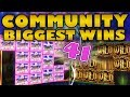 Community Biggest Wins #41 / 2018