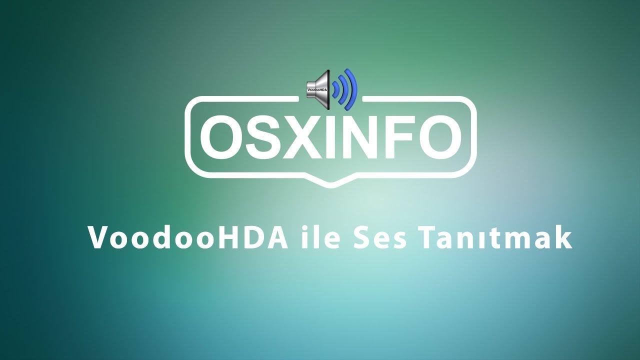 VoodooHDA 2 9 0 Ses Kurulum Paketi | osxinfo net: Hackintosh Türkiye