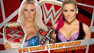 WWE Extreme Rules 2016 - Charlotte vs Natalya (Submission Match - Women's Championship) - WWE 2K16