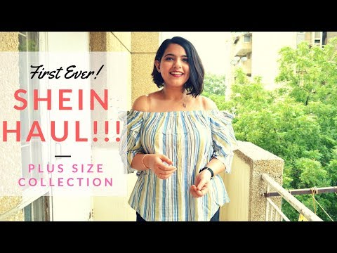 FIRST EVER Shein Haul! First And Last? | Plus Size Collection But What's Wrong With The Size Chart?!
