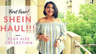 FIRST EVER Shein Haul! First and Last? | Plus Size Collection But What