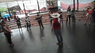 Cueca huasa clase Danilo Fuentes
