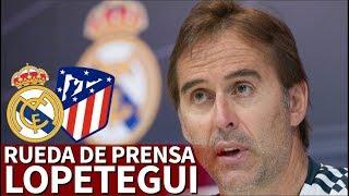 Real Madrid vs Atlético | Rueda de prensa de Lopetegui | Diario AS