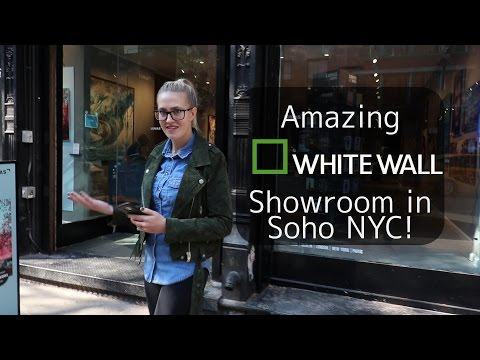 Amazing  White Wall Showroom in Soho NYC!