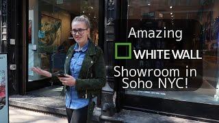 Amazing  White Wall Showroom in Soho NYC!