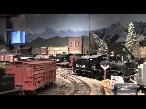 D&REW model railroad in G scale
