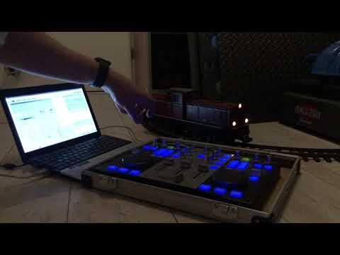 Hercules USB DJ Traincontroller!