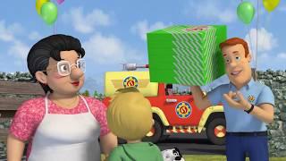 Sam le Pompier en français 🚒🔥Voila les pizzas!  🔥 Compilation   Dessin animé