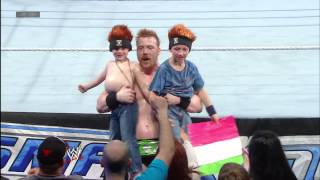 Sheamus greets young members of the WWE Universe: April 19, 2013