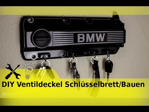 diy ventildeckel schl sselbrett bauen youtube. Black Bedroom Furniture Sets. Home Design Ideas