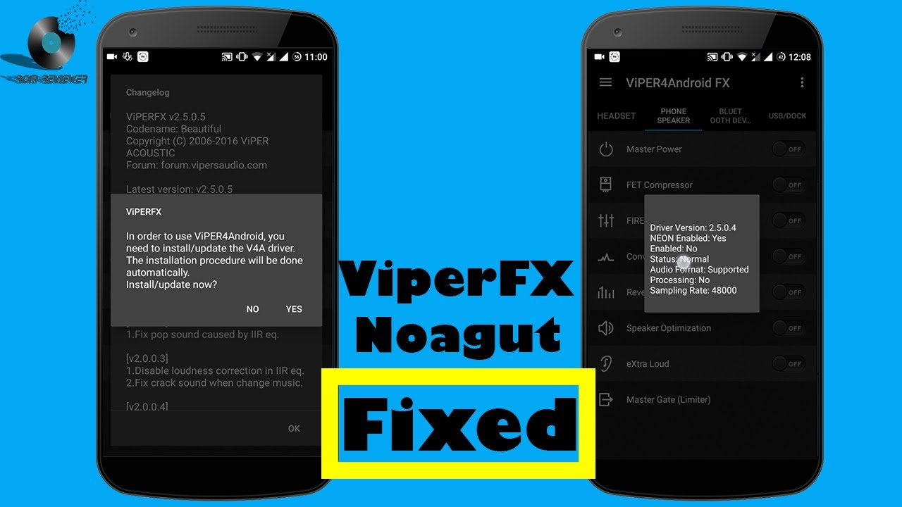 Viper4android Fx Nougat Drivers Installation Issue Fixed