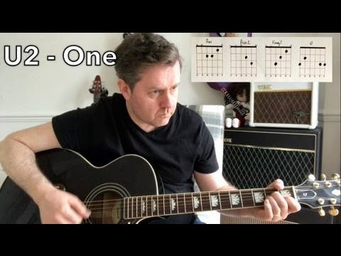 U2 - One - Guitar Play Along - Guitar Chords