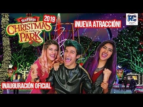 Christmas In The Park con LOS POLINESIOS 2019   NUEVA ATRACCIÓN SIX FLAGS MEXICO 2019