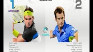 Virtua Tennis 4 PC Gameplay HD Nadal vs Murray Gameplay (Very Hard)