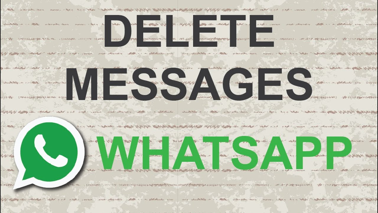 WhatsApp Delete Message Feature