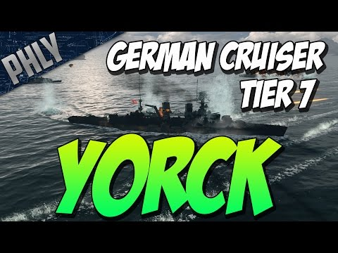 World Of Warships - BATTLESHIP DOWN! - YORCK GAMEPLAY