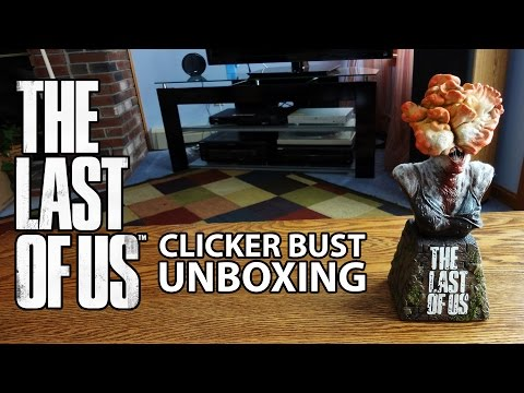 The Last Of Us Limited Edition Clicker Bust Statue Unboxing & Review - HD 1080p
