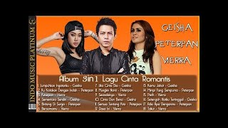 Gambar cover Album 3in1 - Geisha, Peterpan & Vierra - Lagu Cinta Romantis - HQ Audio!!!
