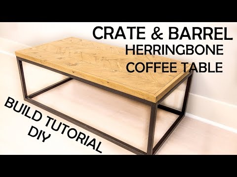 DIY Crate and Barrel Dixon Coffee Table