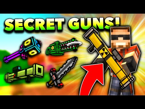 Top 10 SECRET WEAPONS In Pixel Gun 3D! (No One Has These)