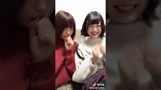 20190120 #TikTok 岩崎春果ちゃん(ふわふわ)② ・岩崎春果 ・新谷姫加.