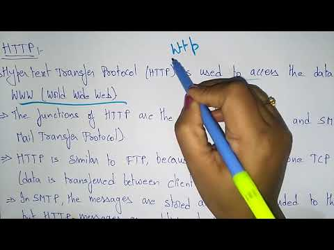FTP and HTTP | Networking | Bhanu Priya