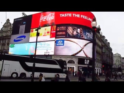 Leap Day London February 29 2016 Piccadilly Circus