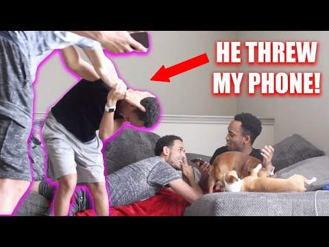 LIKING ANOTHER GUYS INSTAGRAM PHOTOS PRANK ON BOYFRIEND *Gay Couple*