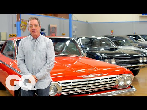 Tim Allen's Car Collection of Authentic American Made Motors   GQ's Car Collectors  Los Angeles