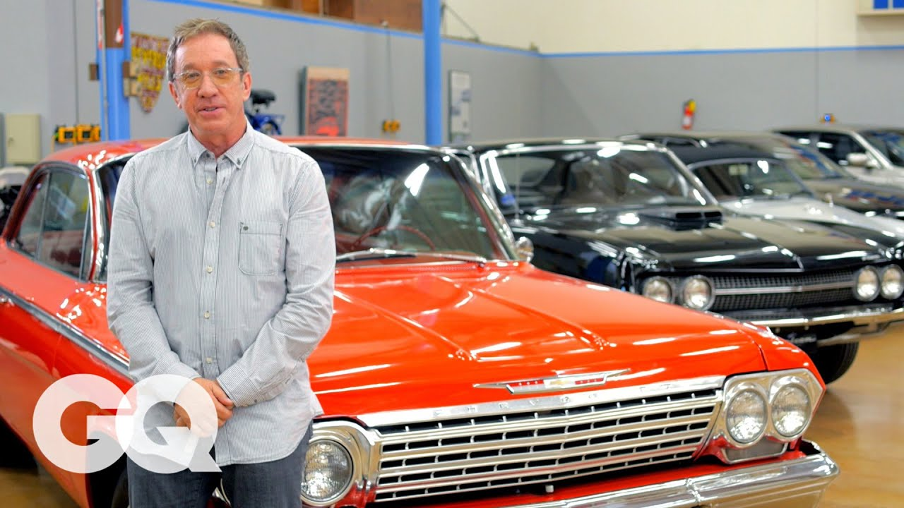 Tim Allen Cars >> Tim Allen S Car Collection Of Authentic American Made Motors Gq S Car Collectors Los Angeles