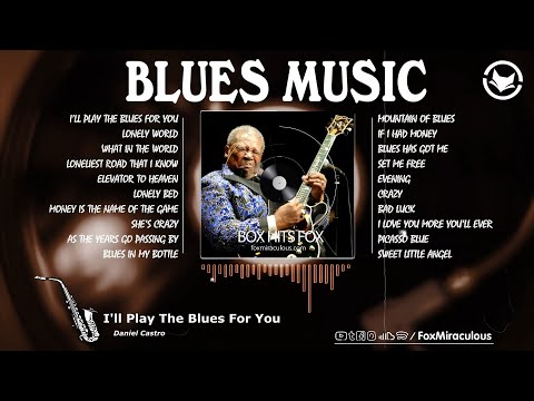 Slow Relaxing Blues Music | Coffee Blues Guitar and Piano Music - Modern Instrumental Blues