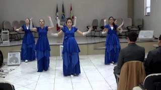 Coreografia Sete Trombetas - Lauriete
