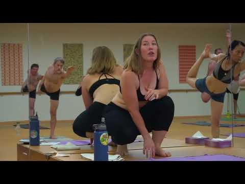 Elizabeth Fendley Macgregor Teaching at Bikram Yoga Salt Lake City, Utah