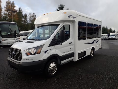Northwest Bus Sales 2015 Starcraft Starlite 14 Passenger Ford Transit Shuttle - S88382