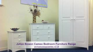 Julian Bowen Cameo Bedroom Furniture Range
