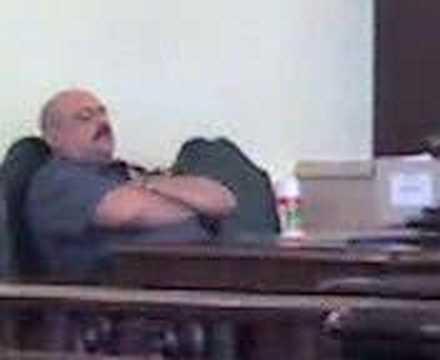 Union County, NJ Sheriff asleep on the job!!