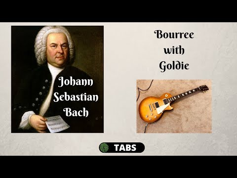 JS Bach Bourree on Guitar